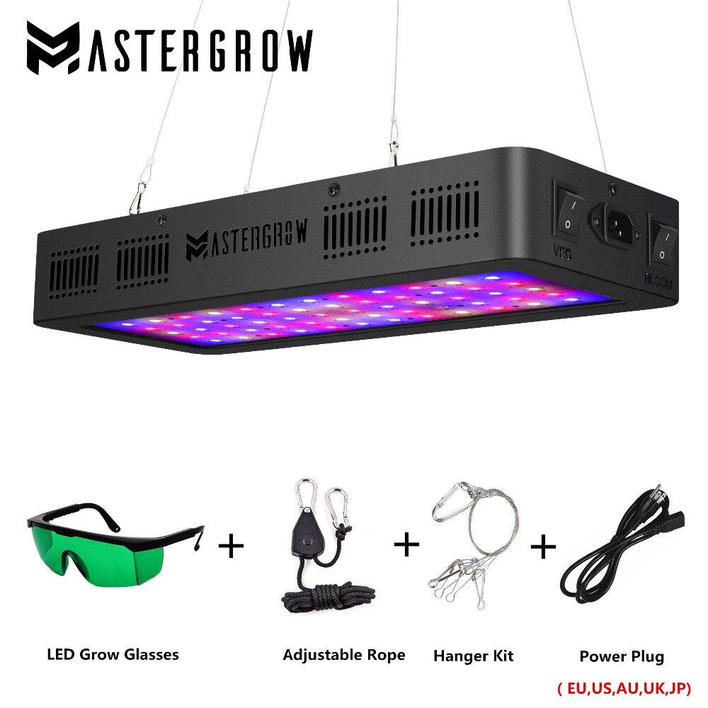 Luz LED de cultivo 600/800/900/1000/1200/1800/2000W espectro completo Veg/Bloom 410-730nm para plantas de interior tienda de cultivo de flores de invernadero