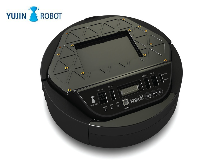 Plataforma de Desenvolvimento Inteligente de Controle Coréia Yujin Robô Chassis Turtlebot 2 – Kobuki Slam Open Source Móvel Remoto Ros Mod. 107166