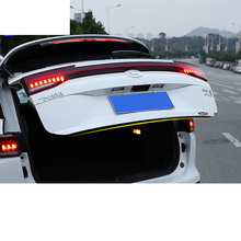 Lsrtw2017 Stainless Steel Car Trunk Rear Bumper Front Grill Taillight Light Article for Trumpchi Gs5  2012-2020 2019 2018 2017