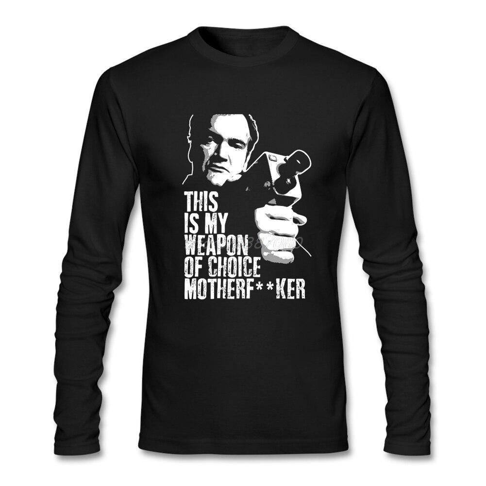 quentin-font-b-tarantino-b-font-weapon-of-choice-t-shirt-custom-long-sleeve-men-t-shirt-2017-hot-free-shipping-cotton-men's-shirts