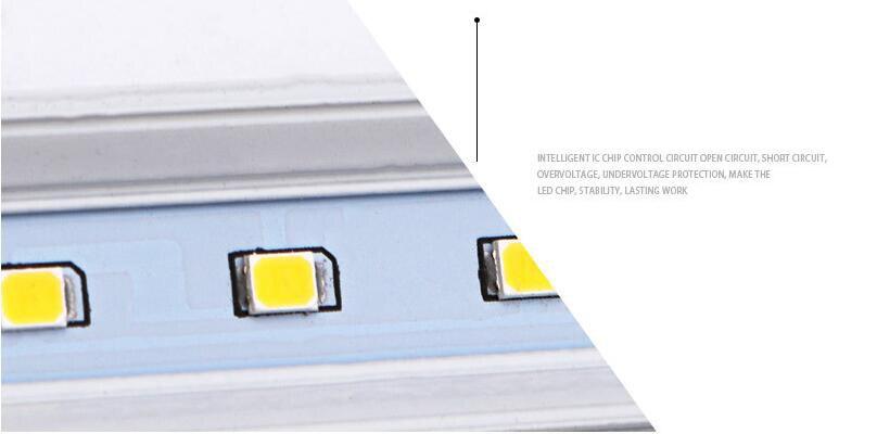30 Вт 60 Вт светодио дный tri доказательство свет Алюминий пластины SMD Форма Три Proofings лампы с прозрачной абразивных крышка - 6
