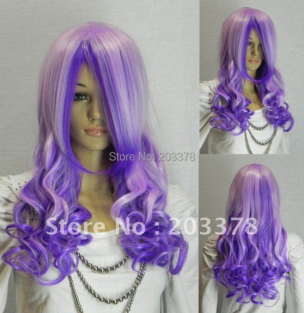 Wholesale Long Wavy Hair Cosplay / Halloween wig HEAT-RESISTANT FIBER 10pcs/lot