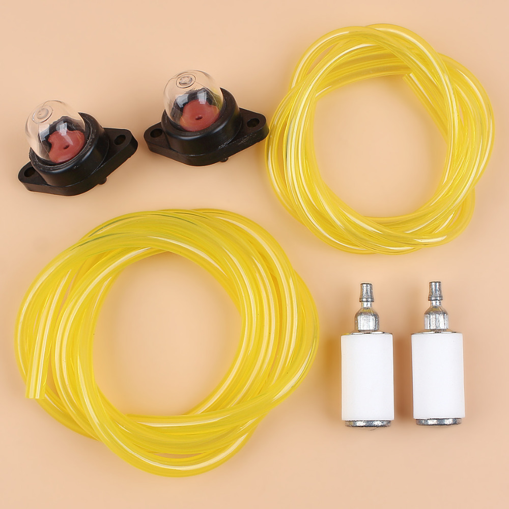 2-Feet Fuel Line Filter Primer Bulb Kit For Poulan 1950 2025 2075 2150 2350 2050 2055 2150 2175 2375 PP210 PP230 PP260 Trimmer
