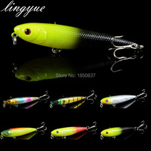 1PCS Top Water Artificial Lure Hard Plastic Fishing Lure Surface Pencil Minnow Bait 8.5g 9.5cm Hook Size 6#