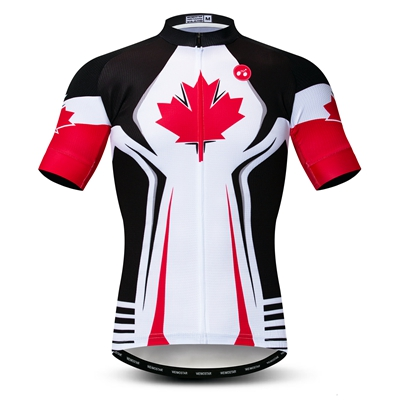 Shorts Men Cycling Kit Black-Red Bib CHEJI Retro Reflective Cycling Jersey and