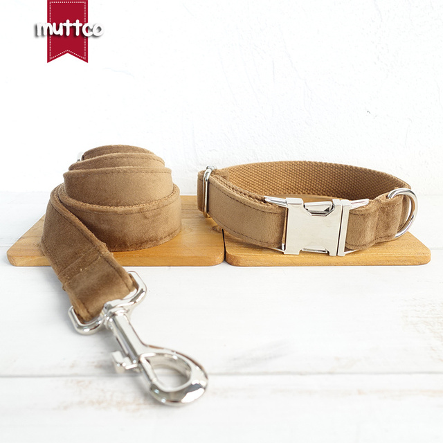 Halsband / Leine / Einzeln oder als Set / Nylon / Personalisierbar 4