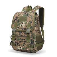 2019 New 25L Camo Tactical Backpack 800D Military Army Mochila Waterproof Hiking Hunting Backpack Tourist Rucksack Sports Bag