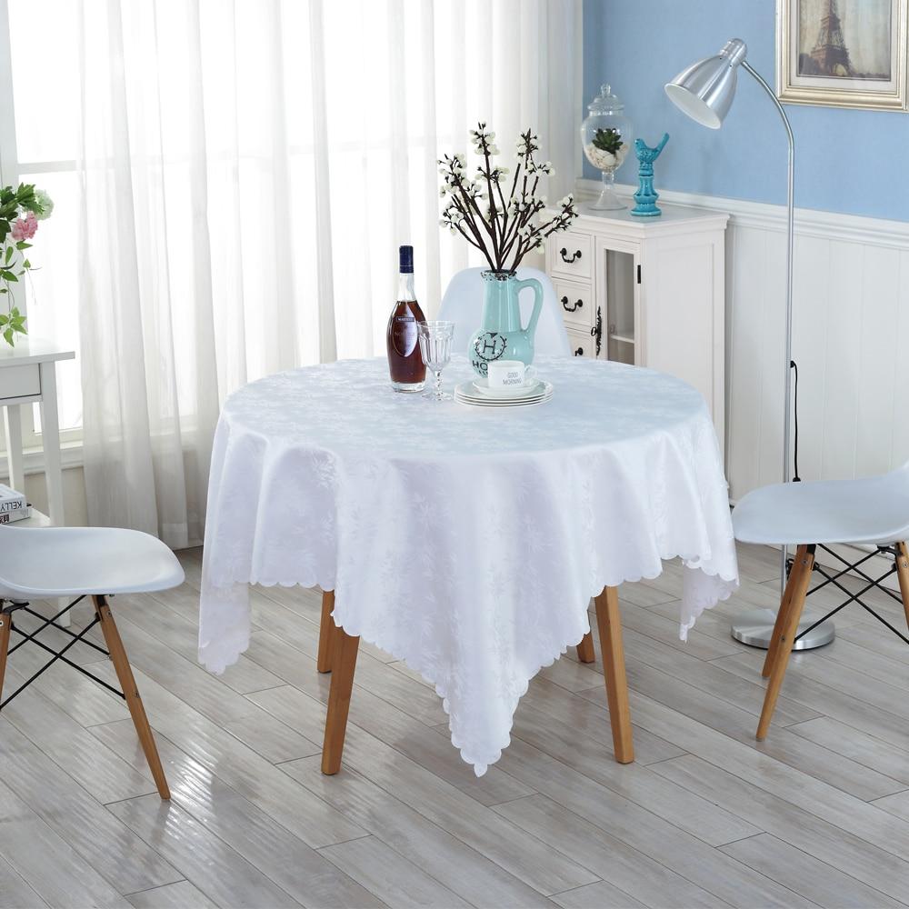 Achetez en gros blanc nappe à manger en ligne à des ...