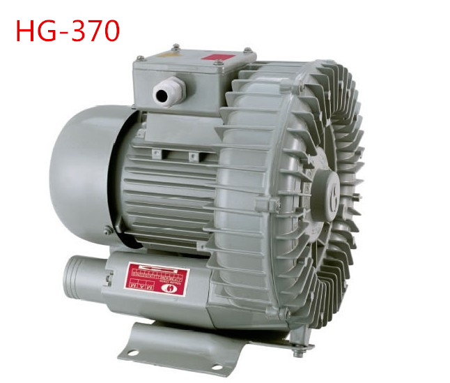 HG-370 high pressure vortex pump high pressure blower high pressure 260w 1ph ac 220v 50hz high pressure air blower vacuum toroidal vortex air pump suction machine by oxygen hg 260