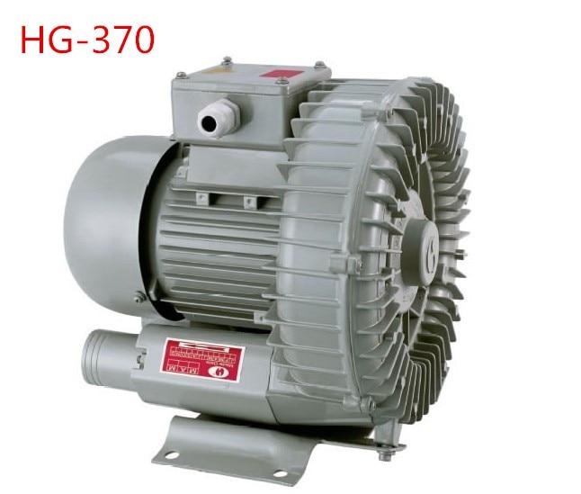 Ventilateur à haute pression de pompe à vortex à haute pression de HG-370