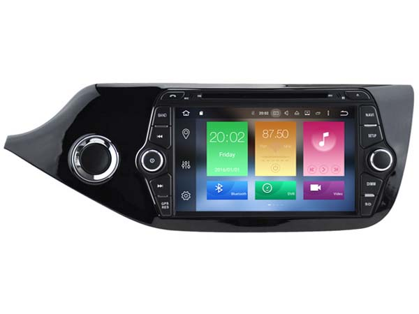 Android 6 0 font b CAR b font Audio DVD player FOR KIA CEED 2012 2017