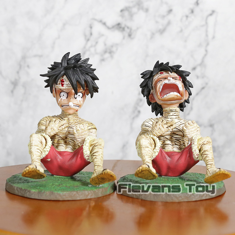 Anime Cartoon One Piece Monkey D Luffy Crying Ver. PVC Statue Figure Collectible Model Toy