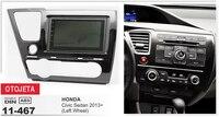 Подходит для Honda Civic Седан 2013 + левый колеса android 7,1 gps navi мультимедиа магнитофон mp5 dvd плеер автомобиля стерео радио