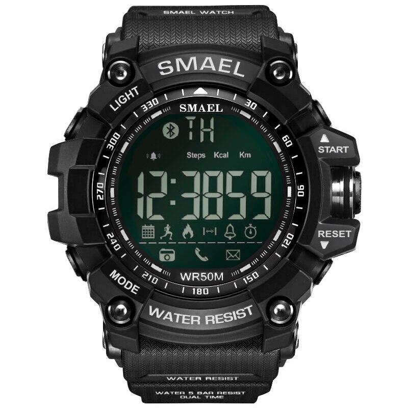 SMAEL Marque Hommes Sport Montre LED Numérique Étanche Mâle Casual Horloges Relogio Masculino Hommes de Montre-Bracelet Militaire Montres