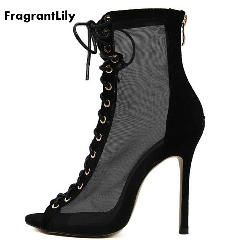 FragrantLily sexy fetish addiction fish mouth Roman style fashion High heels sandals shoes woman Zapados Mujer Sapatos banquet maybelline new york maybelline new york 30 5
