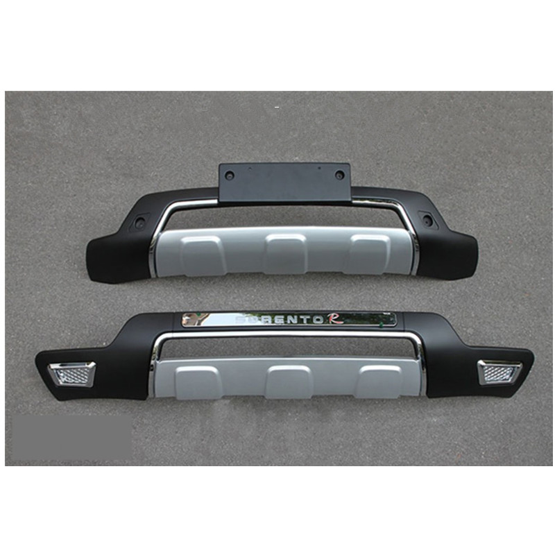 Арьергард спортивного типа бампер Protecter для Kia Sorento 2013-2015
