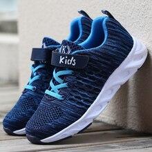 ULKNN Mesh Breathable shoes Student Trainer Footwear chaussure enfant Boys Sneaker For Kids Shoes Children Sport Running