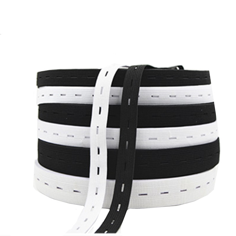Black 25 Meter Elastic Band 15 mm sewing embellishments
