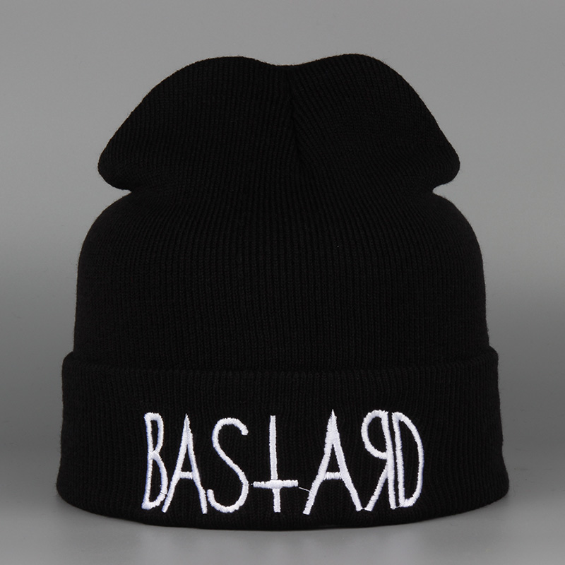 New Fashion BAS ARD Men Hat Winter Womens Hip Hop Solid Unisex High Quality Warm Knitted Brand Hot Sale Casual Skullies Beanies  new 2016 winter hat nasa men women unisex solid brand hot sale warm casual knitted hip hop caps hat female skullies beanies