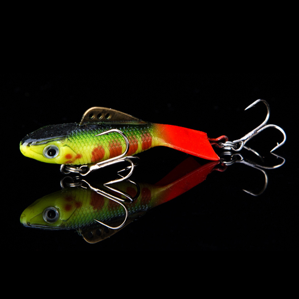 WALK FISH 1PCS 57mm 12g Fishing Lure Winter Ice Fishing Hard Bait Minnow Pesca Isca Artificial Bait Crankbait Swimbait Fishing walk fish 5pcs lot isca artificial fishing lure 13cm 21g crankbait hard fishing bait swimbait pesca lures pike fishing tackle