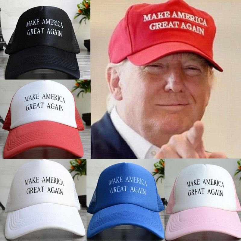 Casual Success Republican Donald font b Trump b font Hat Letter Cap BLACK Make America Great
