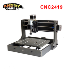 CNC 2419 CNC Engraving Machine,Pcb Milling Machine,Wood Router,Laser Engraving,CNC Router GRBL Control,Carved metal desktop cnc machine 3040z usb mach3 control pcb milling machine drilling router with handwheel