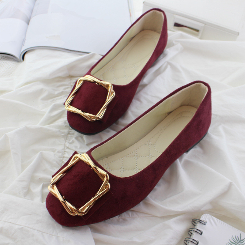 Big Size Women Flats Shallow Candy Color Shoes Woman Loafers Autumn Fashion Sweet Flat Casual Shoes Women Plus Size 35-42 10