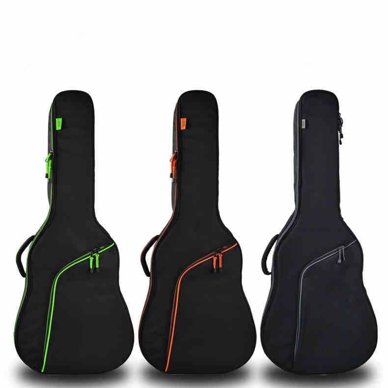 Thicken Folk Flattop Balladry Steel-string Acoustic Classical 35 36 38 39 40 41 Guitar Bag Case Backpack Accessories Carry Gig amumu traditional weaving patterns cotton guitar strap for classical acoustic folk guitar guitar belt s113