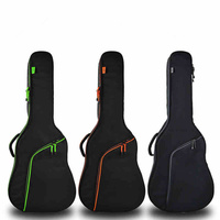 Thicken Folk Flattop Balladry Steel string Acoustic Classical 35 36 38 39 40 41 Guitar Bag Case Backpack Accessories Carry Gig