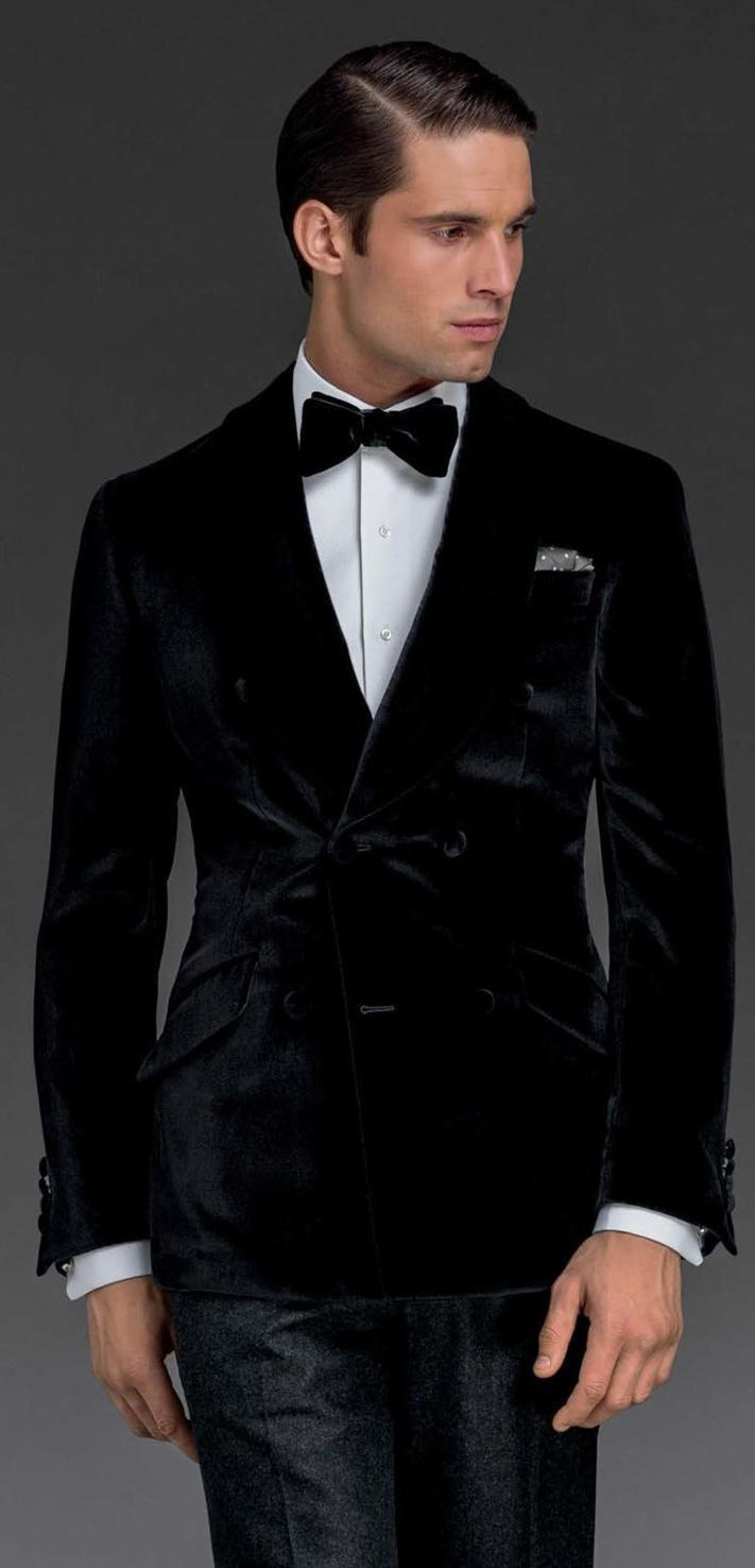 Online Buy Wholesale black velvet 3 piece suit from China black
