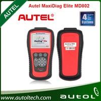 Autel Maxidiag MD802 Elite 4 sistema MD701 + MD702 + MD703 + MD704 herramienta de diagnóstico de la transmisión del motor ABS Airbag EPB escáner reajuste del aceite