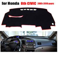Car Dashboard Covers For Honda Old Civic 2005 To 2010 Left Hand Drive Dash Mat Covers