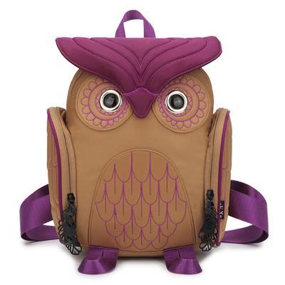 2018 Fashion Terbaru Unisex ransel wanita owl ransel ukuran besar tas - Ransel - Foto 4