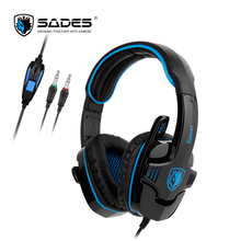 SADES GPOWER Stereo Sound PC/PS4/XBOX Gaming Headset headphone with omnidirectional Microphone for Gamer
