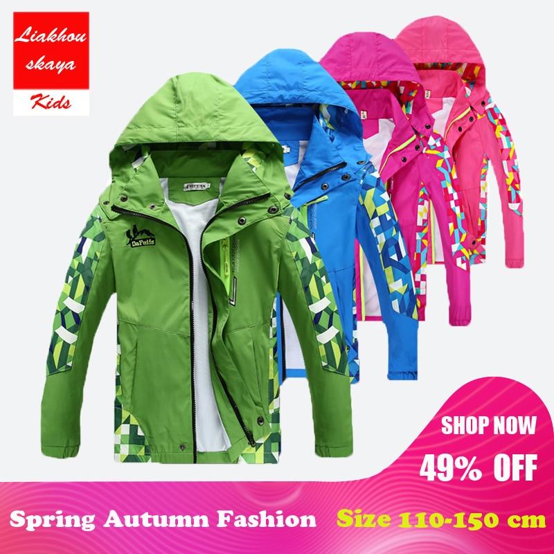 c33fccee7b85 Liakhouskaya 2018 Kids Children Jackets Coat Hoodies For Boys Girls ...