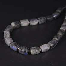 цена 21pcs/strand,Natural Flash Labradorite Faceted Cube Nugget Pendant Beads,Cut Rough Stone DIY Necklace Bracelet Jewels Making онлайн в 2017 году