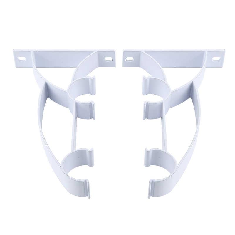 Алюминиевый сплав занавес стержень полюс держатель настенный кронштейн база для гостиной Декор интерьера занавеска декоративный аксессуар