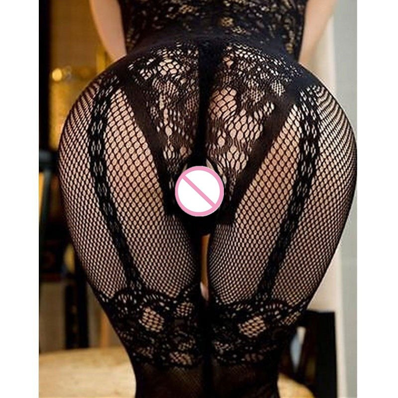 Open Crotch <font><b>Sexy</b></font> Lingerie Women Erotic Lingerie Hot Sex Products <font><b>Sexy</b></font> Costumes Fishnet Intimates <font><b>Sleepwear</b></font> Porn Sex <font><b>Babydoll</b></font> image