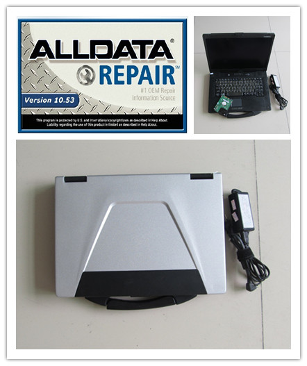 alldata 2018 installed version with laptop toughbook cf-52 v10.53 alldata and mitchell software 2in1 hdd 1tb windows 7 best