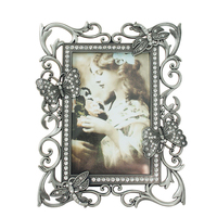 4x6 inch Vintage Metal Photo Picture Frames For Home Decor, Gifts MPF092