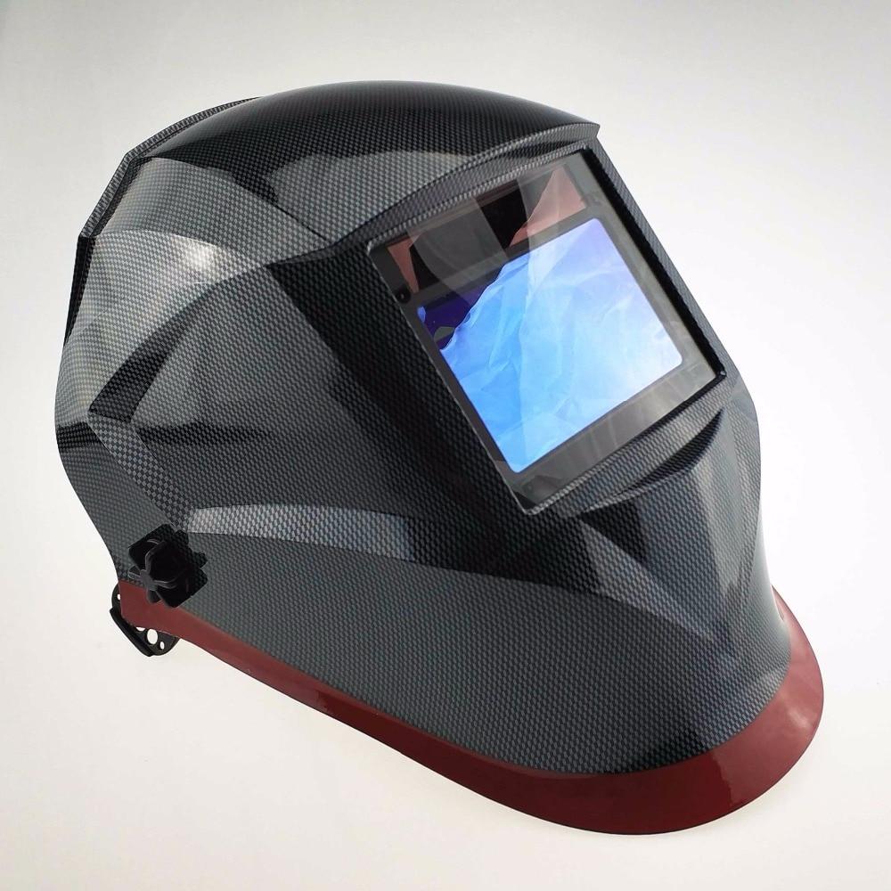 Welding Helmet Top Optical Class 1111 100x65mm 3.9x2.5 4 Sensors Welder Hat MMA MIG TIG CE Solar Auto Darkening Welding Mask
