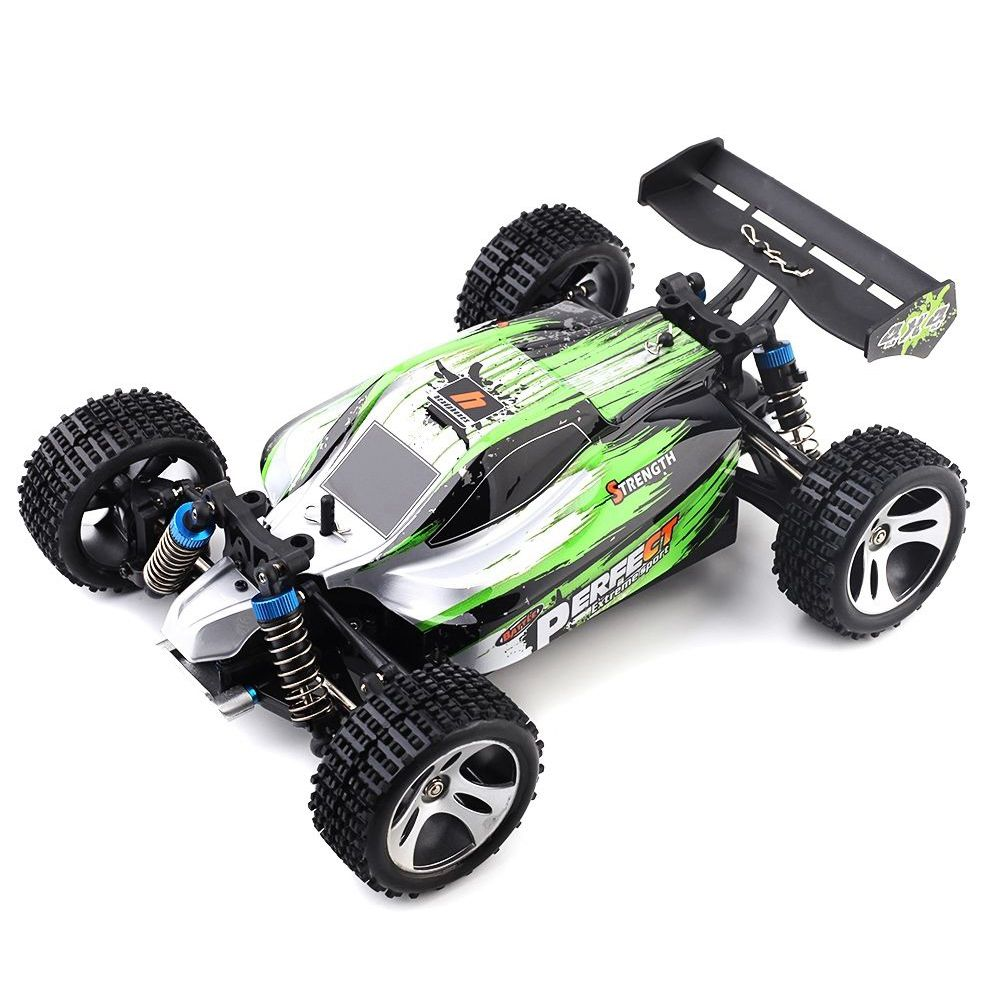 WLtoys A959-A 1: 18 4WD RC Car Off-road Car RTR Remote Control 35km/h, EU Plug ...