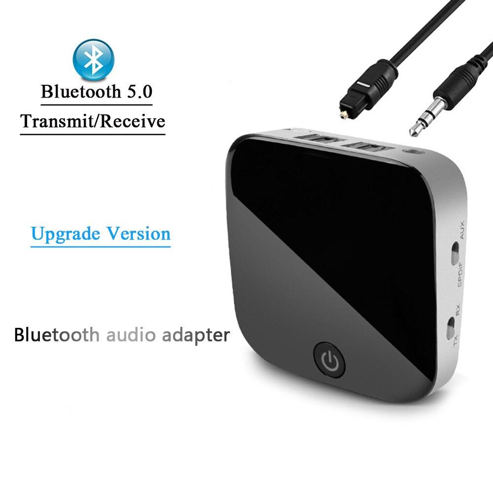 Récepteur et émetteur Bluetooth 5.0 Audio CSR8670 Aptx HD adaptateur optique Toslink/3.5mm AUX/SPDIF pour voiture TV