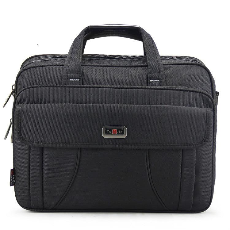 High Quality Brand Waterproof Nylon Laptop Briefcase Men Bag Travel Suitcase Business Laptop Men's Briefcase Bolsa Masculina