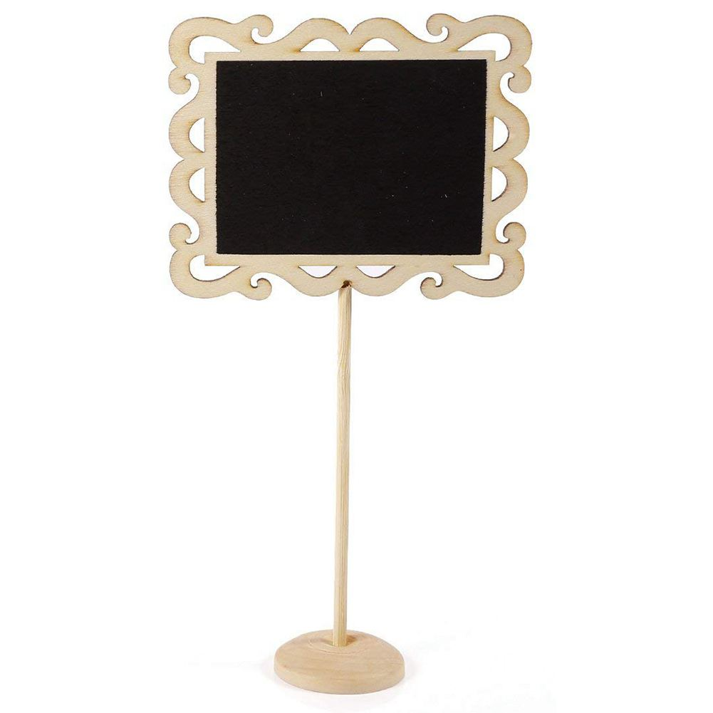 Mini Message Board Of 24 Sets, Wedding Party Sign Board