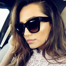 CURTAIN 2019 Oculos De Sol Sexy Rectangle Sunglasses Women B