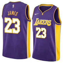 reputable site 48396 96bf0 2018 Nuovo   23Los Angeles Lakers James città edition Lebron James Jersey  Lakers LeBron James Basket Maglie Lakers Con Logo