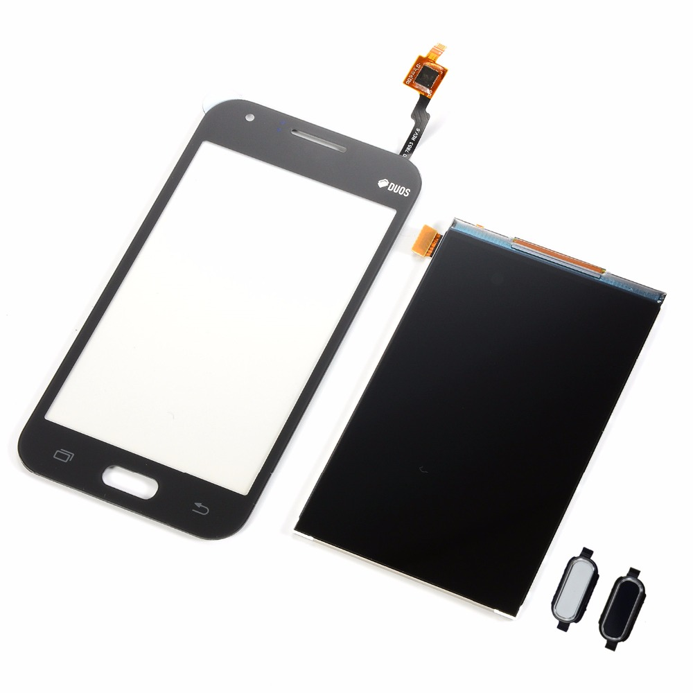 Für <font><b>Samsung</b></font> Galaxy J1 2015 <font><b>J100</b></font> J100F J100FN J100H <font><b>LCD</b></font> Display Bildschirm Touch Screen Digitizer Sensor + Home Button schlüssel image