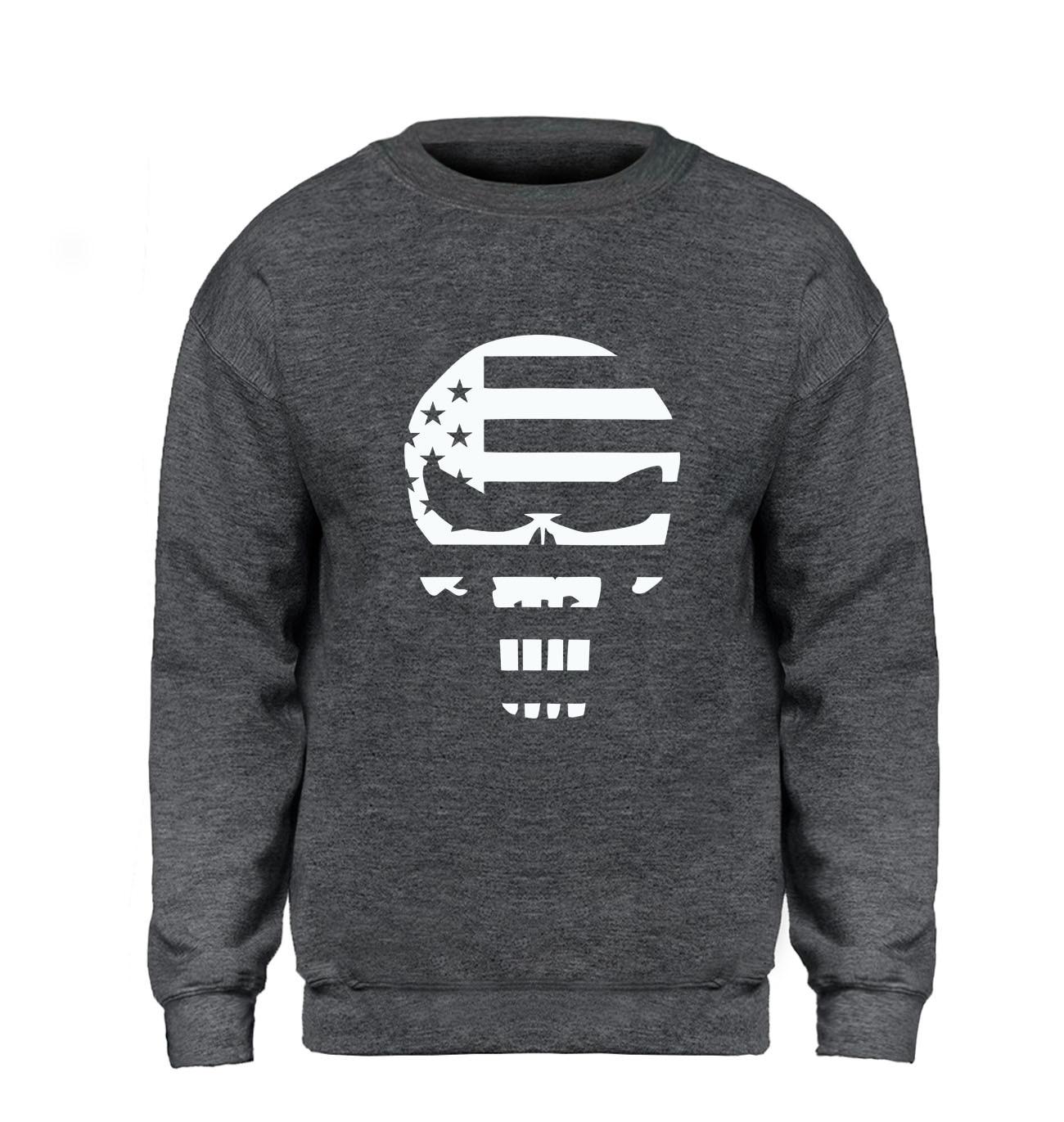 American Sniper Punisher Skull Navy Seal Hoodie Men Hip Hop Sweatshirt Winter Autumn Fleece Warm Swag Sportswear Brand Clothing