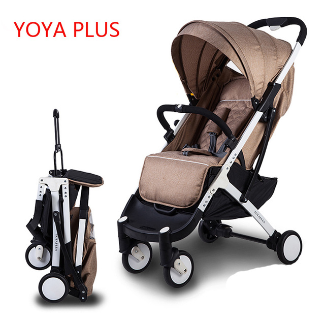 YOYAplus Baby Stroller Light Weight Fold Portable Multifunctional Baby Umbrella Stroller Newborns Carriage hit Wheelchair Prams